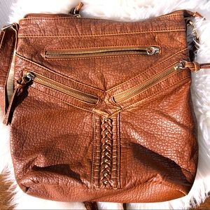 Saks 5th ave Under one sky Crossbody faux leather